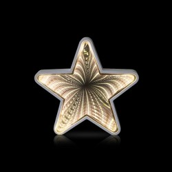 Decorative Wooden LED Christmas Star