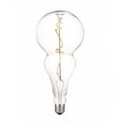 LED Λάμπα Διακοσμητική Ιδιαίτερο Σχήμα E27 5W Dimmable Filament Διαφανές Γυαλί με νήμα