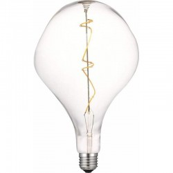 LED Λάμπα Διακοσμητική Ιδιαίτερο Σχήμα G180 E27 5W Dimmable Filament Διαφανές Γυαλί με νήμα