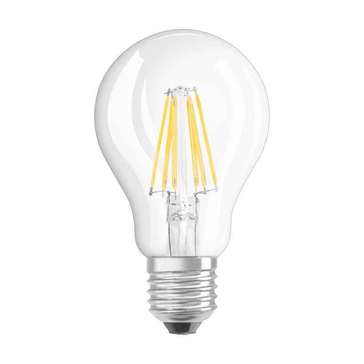 LED Λαμπτήρας με νήμα Filament E27 6W Α60 Θερμό Λευκό Dimmable