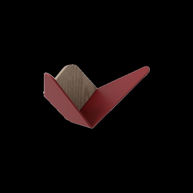 Διακοσμητικά Ράφια Butterflies Mini Επίτοιχα Κόκκινα by Umage