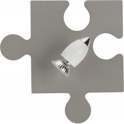 Puzzle Wall Lamp for kids (Gray, Rosse, Ecru, Brown)