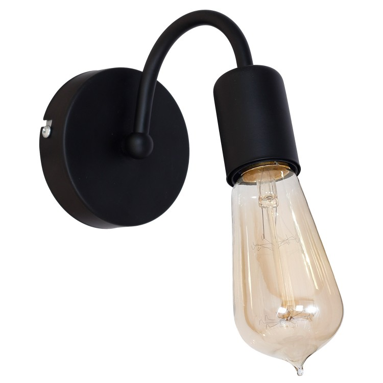 Wall lamp Dow Black