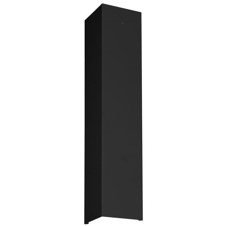 Απλίκα Τοίχου Up-Down Shield Ορθογώνια Μίνιμαλ Μαύρη