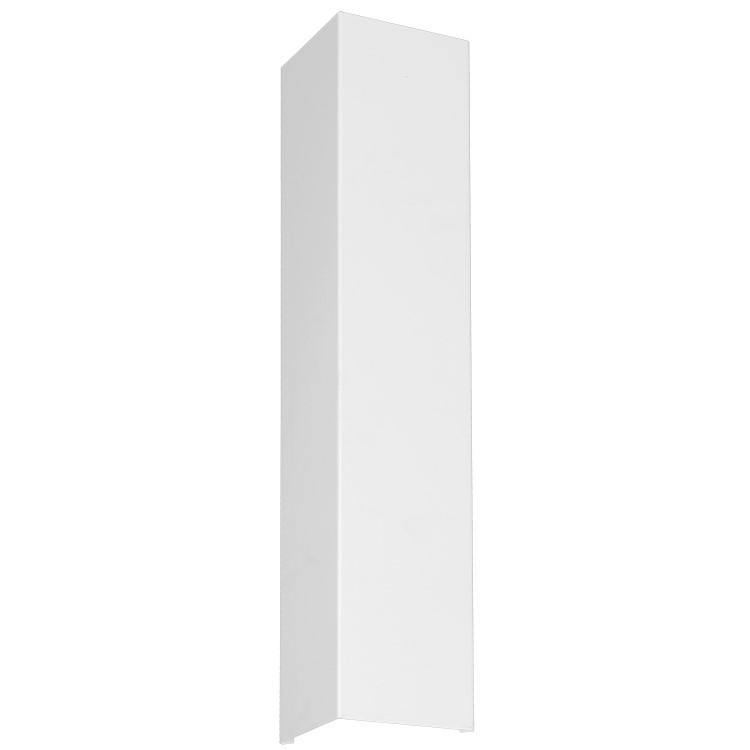 Απλίκα Τοίχου Up-Down Shield Ορθογώνια Μίνιμαλ Λευκή
