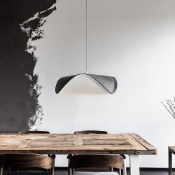 Sine Felt Grey G57 Pendant Lamp by VITA