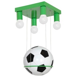 Football kids pendant Light Green 4 lights