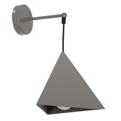 Metal Industrial Wall Lamp Set Gray
