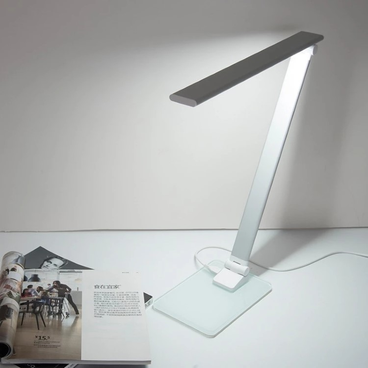 LED Φωτιστικό Γραφείου 5W Αλουμινίου Κινητό Dimmable
