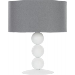 Edith White (S) Table Lamp