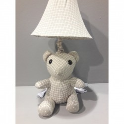 Kids lamp Bear Baby Fabric Material