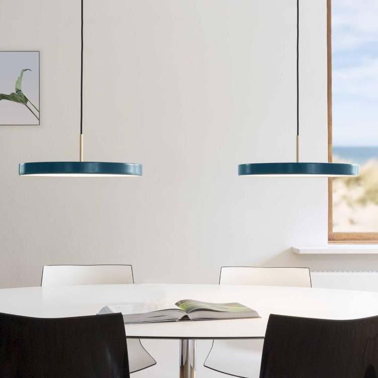 Κρεμαστό Φωτιστικό LED Asteria Petrol 17W G43cm by UMAGE