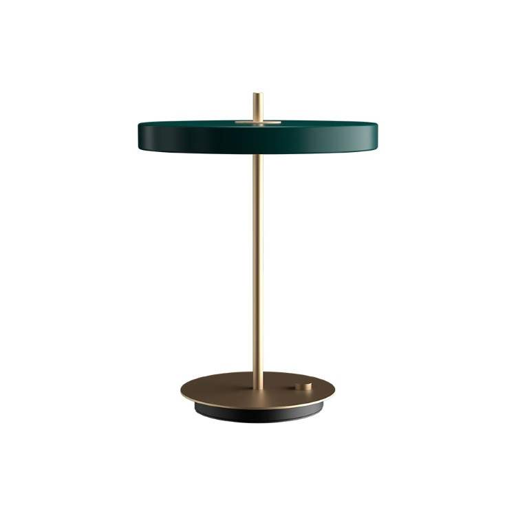 LED Πορτατίφ Asteria Table Forest Green 13W Φ31cm Dimmable by UMAGE