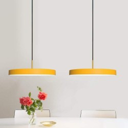 Κρεμαστό Φωτιστικό LED Asteria Saffron Yellow 17W G43cm by UMAGE