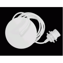 Metal White Cord Set 2m Cable by Vita