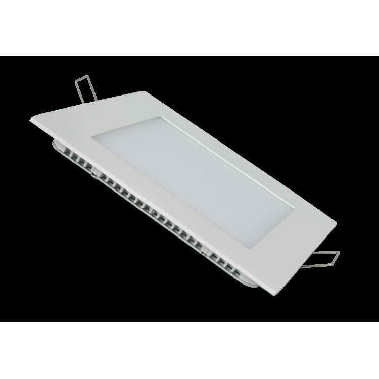 *ΠΡΟΣΦΟΡΑ* LED Πάνελ  Τετράγωνο Λευκό 18W 6000Κ (Τελευταία Κομμάτια)