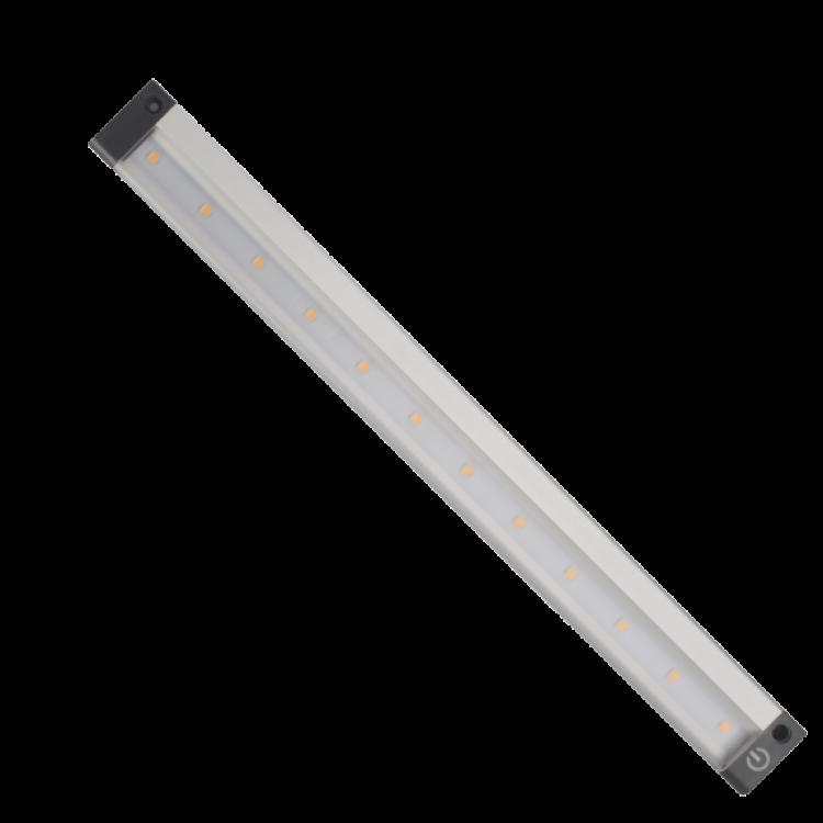 LED Γραμμικό Φωτιστικό για Ντουλάπα 5,3W  με διακόπτη Αφής