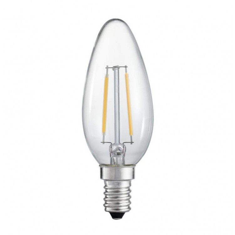 LED Filament E14 Κερί 4W Dimmable