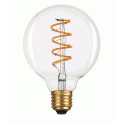 LED LAMP BULB G95 E27 6W FILAMENT SPIRAL