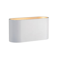SQUALLA G9 Wall Lamp White and Gold