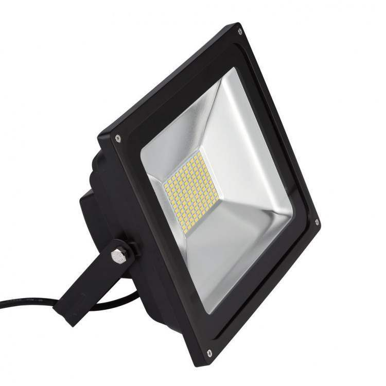 Προβολέας LED SMD 100W DC12-24V IP66 Μαύρος