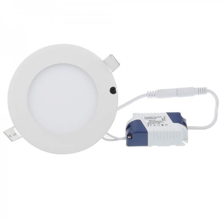 ΠΡΟΣΦΟΡΑ! LED Πάνελ Στρόγγυλο Λευκό 3W Ψυχρό Λευκό 6000Κ