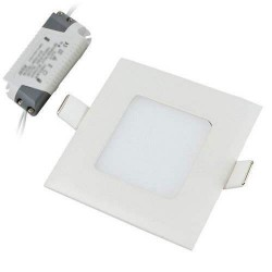 LED Recessed Square Panel 3W